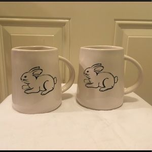Accessories - NWT Lot Of Two (2) Rae Dunn Bunny Mugs